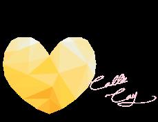 Callie Cay Cursive Pink